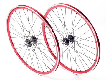 Picture of Shroom Deep Section Wheel Set - Red/Black