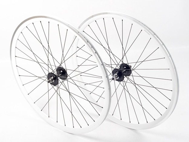 Picture of Shroom Deep Section Wheel Set - White/Black