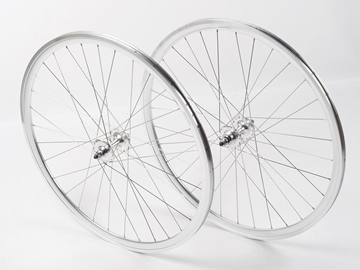 Picture of Shroom Deep Section Wheel Set - Silver/Silver