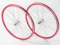 Picture of Shroom Deep Section Wheel Set - Red/Silver