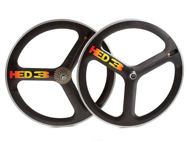 Picture of HED Carbon Wheelset - Black