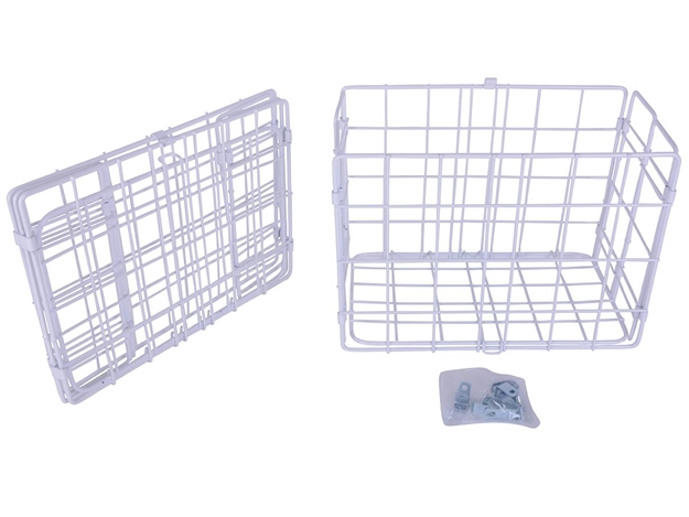 Picture of Wald 582 Folding Basket - White