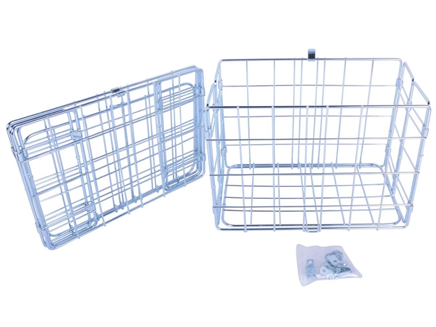 Picture of Wald 582 Folding Basket - Silver