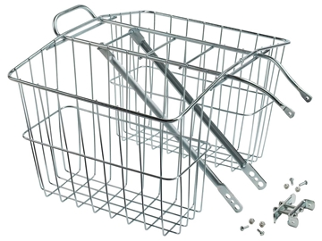 Picture of Wald 520 Twin Carrier Basket - Silver