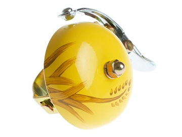 Crane Hand Painted Bell - Yellow Autumn