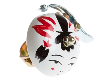 Picture of Crane Hand Painted Bell - Onna