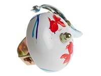 Picture of Crane Hand Painted Bell - Koi