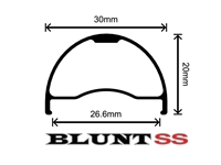 Picture of Velocity Blunt SS - 27.5 Inch - Black NMSW