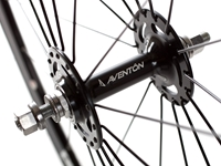 Aventon Push Wheelset Black Front