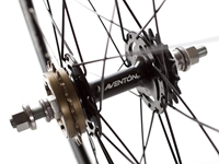 Aventon Push Wheelset Black Rear