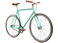 Picture of BLB Track Fixie & Single Speed Bike - Celeste/Silver/Brown