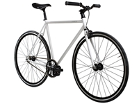 Picture of BLB Track Fixie & Single Speed Bike - White/Black