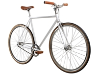 Picture of BLB Track Fixie & Single Speed Bike - White/Silver/Brown
