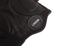 Picture of BLB Classic Sport Leather Cycling Gloves - Black