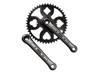 Picture of Paul Components Royal Flush Crankset - Black