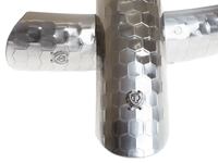 Picture of BLB Hammered Fenders - Polished Silver