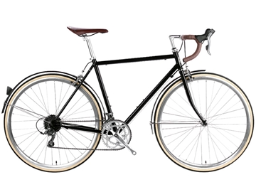 Picture of 6KU Troy 16spd City Bike - Del Rey Black