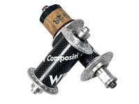Picture of WR Compositi MTB Hub Set - Black