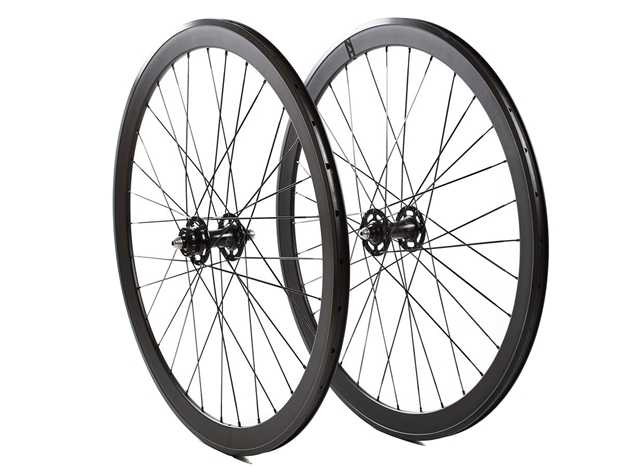 Picture of H+Son SL42/Ridea Track Wheelset - Black MSW