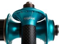Picture of Poggipolini Carbon Hub Set - Turquoise