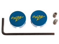 Picture of Onza Chill Pill Brake Cable Hangers - Blue