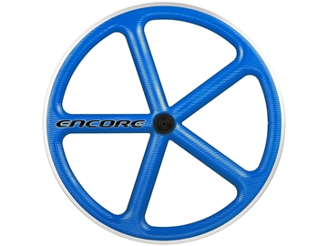 Picture of Encore Wheel - Voodoo Blue NMSW - Carbon Weave