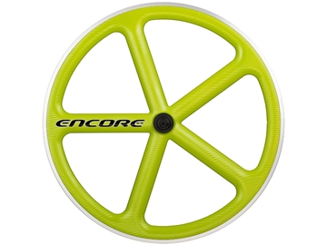 Picture of Encore Wheel - Sublime Lime MSW - Carbon Weave