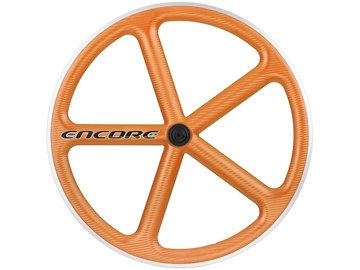 Picture of Encore Wheel - Omaha Orange MSW - Carbon Weave