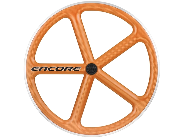 Picture of Encore Wheel - Omaha Orange MSW - Carbon Weave