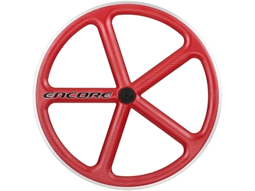 Picture of Encore Wheel - Viper Red MSW - Carbon Weave