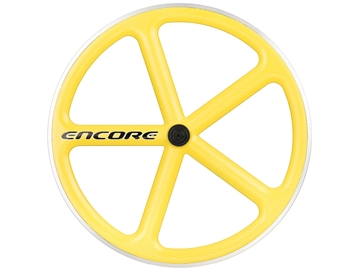Picture of Encore Wheel - Zinc Yellow MSW - Carbon Weave