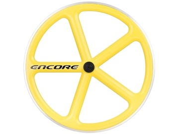 Picture of Encore Wheel - Zinc Yellow NMSW - Carbon Weave