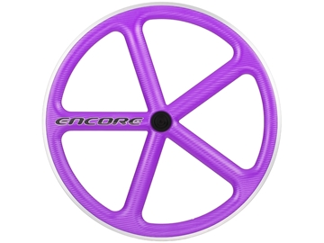 Picture of Encore Wheel - Purple NMSW - Carbon Weave