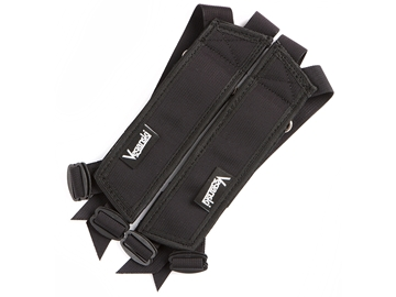 Picture of Veganski Metal Pedal Straps - Black