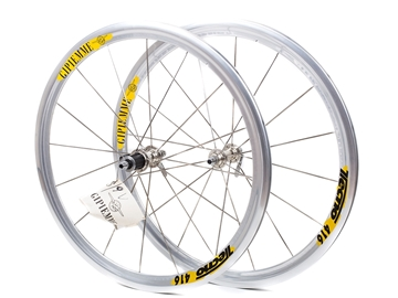 Picture of Gipiemme Tecno416 Wheel Set - Silver