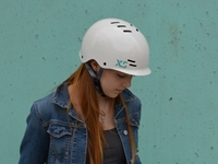 Picture of XS Unified Skyline Helmet - Brick Red