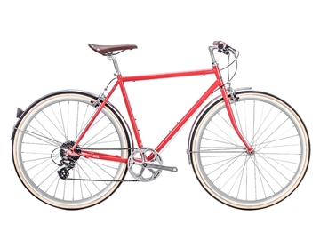 Picture of 6KU Odyssey 8spd City Bike - Lincoln Red