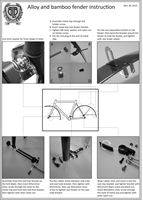 BLB Classic Alloy Rear Fenders instructions