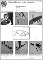 BLB Classic Alloy Fenders Instructions