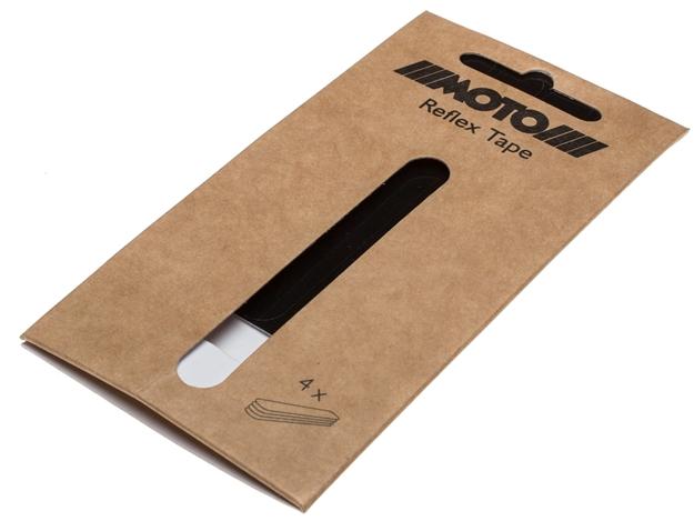 Picture of Moto Reflective Stripes for Reflex pedals - Black
