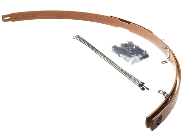 Picture of BLB Classic Wood Fenders - Brown