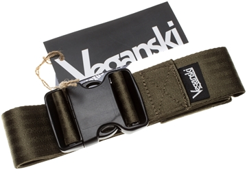 Picture of Veganski Belt with plastic buckle - Dark Green