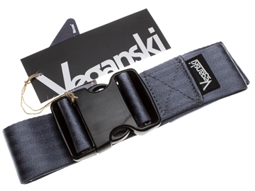 Picture of Veganski Belt with plastic buckle - Grey