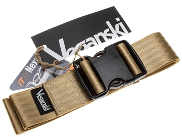 Picture of Veganski Belt with plastic buckle - Light Brown
