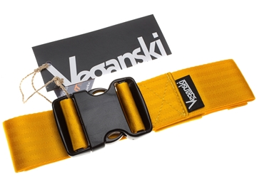 Picture of Veganski Belt with plastic buckle - Yellow