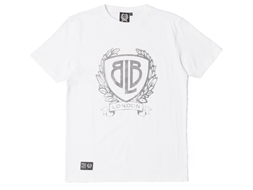 Picture of BLB Raised Shield Tee - White