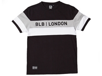 Picture of BLB Cut & Sew Tee - Black/Grey/White