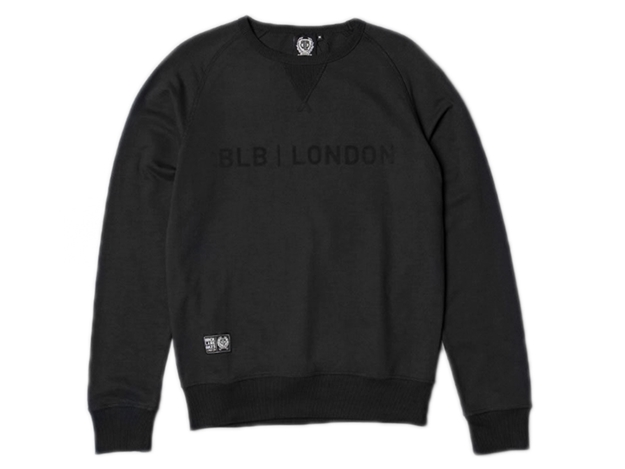 Picture of BLB Flock London Sweatshirt - Black