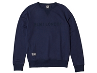 Picture of BLB Flock London Sweatshirt - Navy