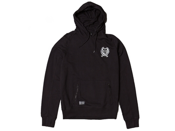 Picture of BLB Large Badge Overhead Hoodie - Black